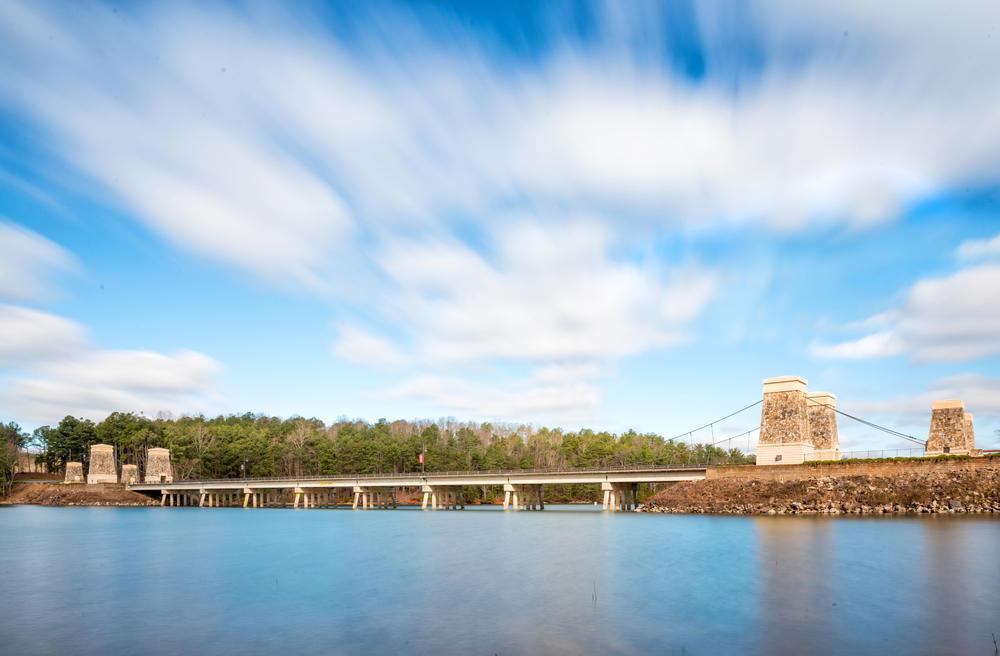 bridge to Lanier Islands
